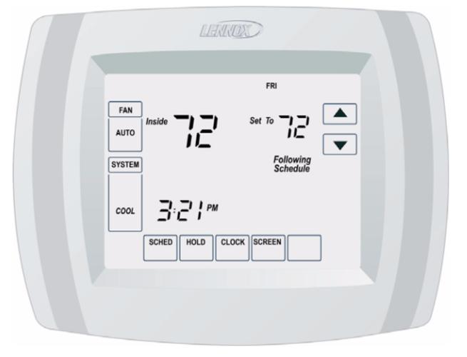 Lennnox Comfort Sense 5000 Thermostat